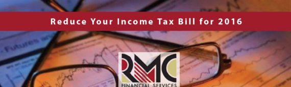 Reduce Your Income Tax Bill for 2016